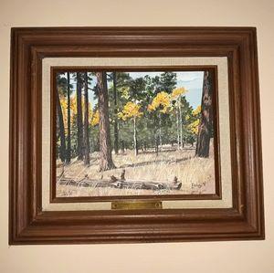 Vtg Original Painting